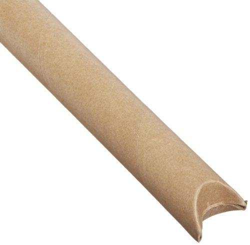 Kraft Crimped End Mailing Tubes - Aviditi S2024K Crimped End Mailing Tubes, 2