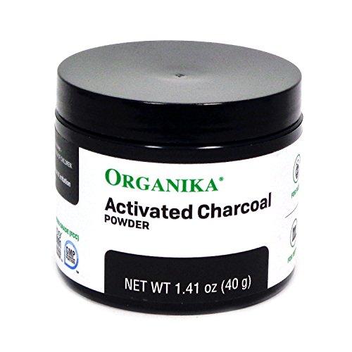 Organika Activated Charcoal Powder, 1.41 Ounce by Organika