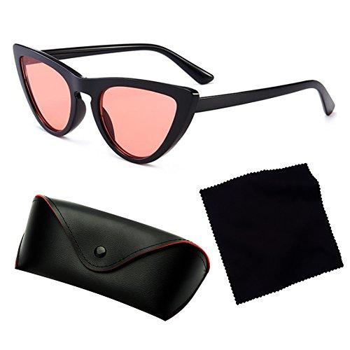lunettes C2 femmes soleil Triangle lunettes Eye UV400 Cateye élégant Vintage lunettes petites juqilu de Cat UwZqAHIRWx