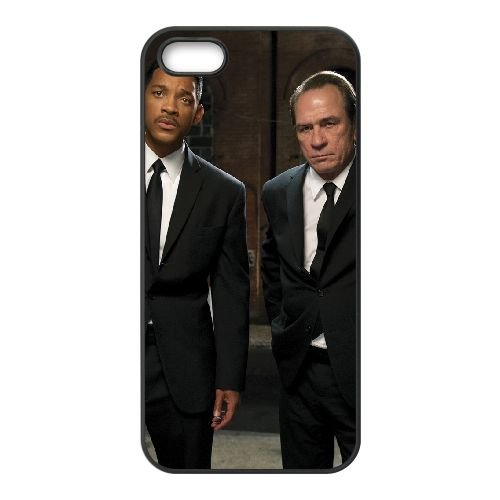 Men In Black Iii 9 coque iPhone 5 5S cellulaire cas coque de téléphone cas téléphone cellulaire noir couvercle EOKXLLNCD25979