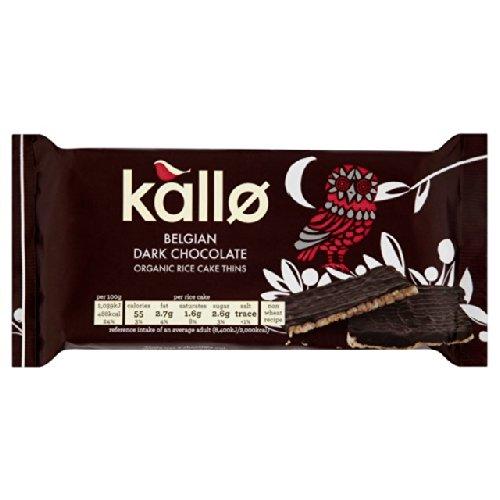 - Kallo Dark Chocolate Rice Cake Thins 90g
