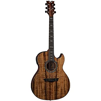 dean exhibition koa thin mahogany body acoustic electric guitar with aphex aural. Black Bedroom Furniture Sets. Home Design Ideas