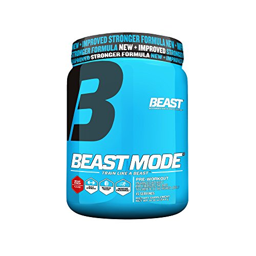 Beast Sports Nutrition, Beast Mode Pre-Workout, Beast Punch, 19.36 Ounce