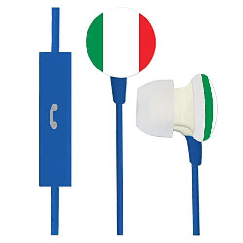 Italy Ignition Earbuds + Microphone by AudioSpice