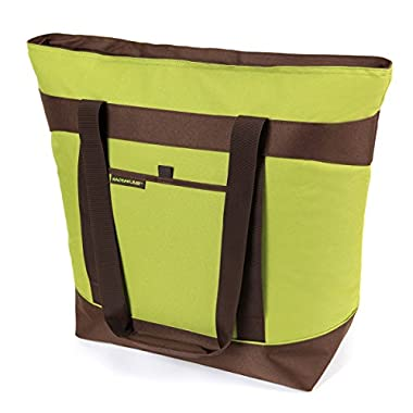 Rachael Ray 10 Gallon Jumbo ChillOut Thermal Tote, Green