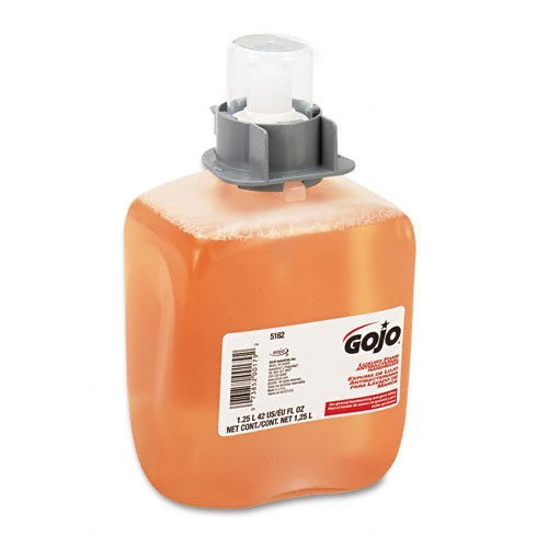 Go-jo 5162-03 Luxury Antibacterial Foam Soap Refill, 42 Oz