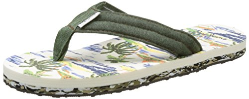 Pepe Jeans London Jungen Magic Caribe Zehentrenner Grün (Military Olive)