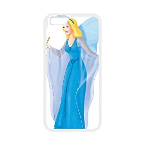 iPhone 6 4.7 Inch Cell Phone Case White Pinocchio Character Blue Fairy wjdu