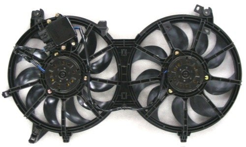 Go-Parts OE Replacement for 2008-2013 Infiniti G37 Engine/Radiator Cooling Fan Assembly - (Coupe + Convertible + Sedan) 21481-JK60B IN3115108