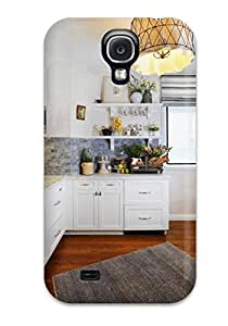 DebAA Galaxy S4 Well-designed Hard Case Cover White Kitchen With Hardwood Floors Protector