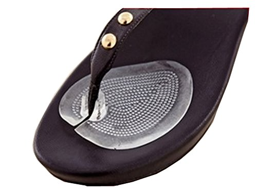 Flip Thong - Ushoppingcart 1 Pair Relax Walking Soft Flip Gel Cushions For Sandal Flip-Flop With Gel Toe Guards Cushions Thong Protectors,Protecet the sensitive skin between the big and second toe