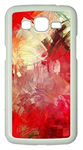 Samsung Galaxy Grand 2 Case - Paint Brushes PC Hard Case for Samsung Galaxy Grand 2 / Samsung Galaxy 7106 - White