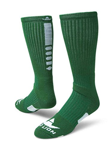 Red Lion Legend 2 Athletic Socks ( Kelly Green / White - Medium ) ()