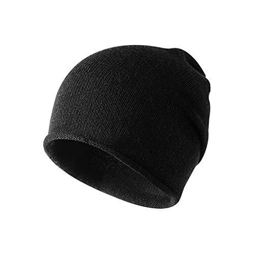ふさわしい海嶺旋回ユニセックス冬暖かいニット帽子だらしないキャップビーニーハット
