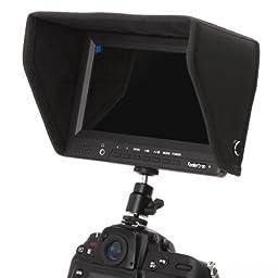 Koolertron® 7 Inch 16:9 LCD HD 1920*1080 Pixels 1080P Portable Camera-Top Field Monitor W/ HDMI Input