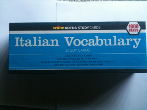 Italian Vocabulary Study (Notes Italian)