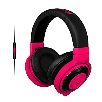Razer Kraken Mobile Frml Casque Pc Néon Rouge Amazonfr High Tech