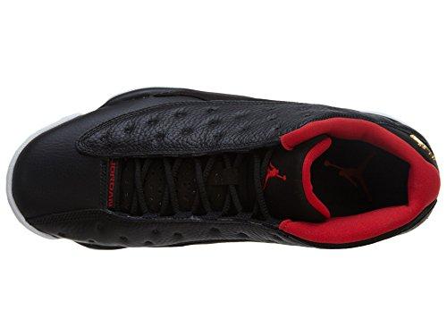 S metallic 13 Nera Air Pelle Gold Rosso universitã nbsp; Nike Bred Retro In Low CaRxnZx6