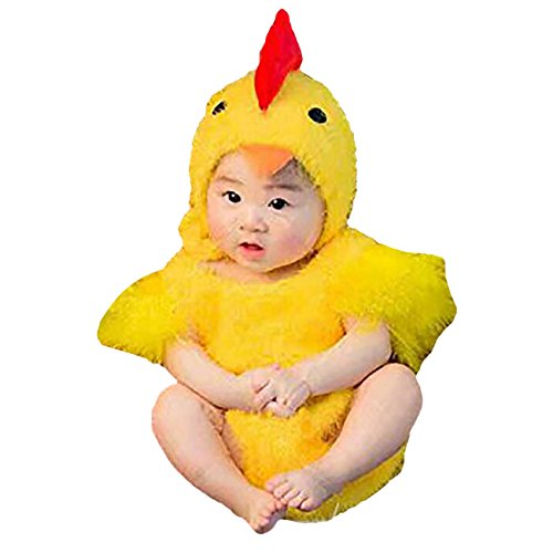 Infant Baby Chick Costume (THEE Newborn Infant Baby Photography Prop Chick)