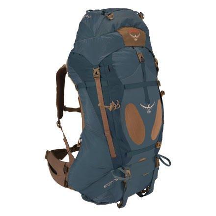 Osprey Argon 70 Backpack (Delta Blue, Large), Outdoor Stuffs