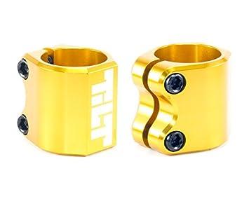 Tilt Oro Double Patinete de bar Clamp brazo abrazadera 34,9 ...