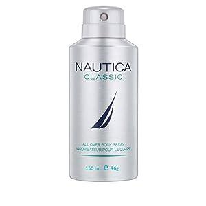 Nautica Deodorant Body Spray for Men, Classic, 5 Ounce