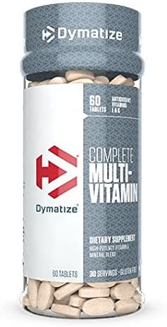 Dymatize Complete Multi-Vitamin, 60 Tablets