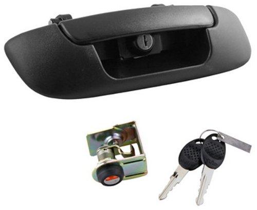 Pilot Bully Integrated Keyed Tailgate Lock Dodge Ram 2002 to 2009 (Handle Tailgate Lock)