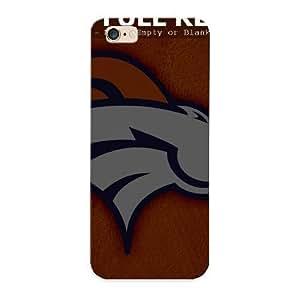 91284154659 Anti-scratch Case Cover Runandjump Protective Denver Broncos Logo Orange Background Case For Iphone 6 Plus