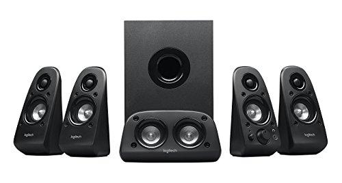 Logitech Z506 Surround Sound Home Theater Speaker System (Renewed)