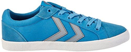 Hummel Deuce Court Summer, Unisex Adults' Low-Top Sneakers Blue (Cendre Blue)
