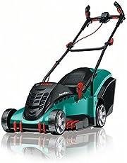 Bosch Rotak 43 Lawnmower (50-litre grass box, 1800 W, Ergoflex system, cutting width: 43 cm, cutting height: 20-70 mm)