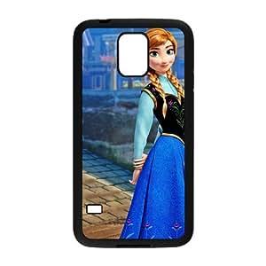 DAZHAHUI Frozen Princess Anna Cell Phone Case for Samsung Galaxy S5