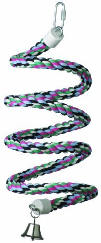 3 4 In Octagon Bird Toys : Super bird creations inch by rope bungee
