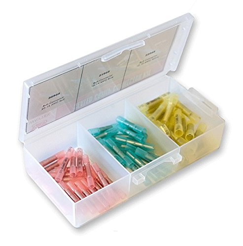 Crimp & Seal Terminal Butt Connector Kit 60 Pieces by AYT