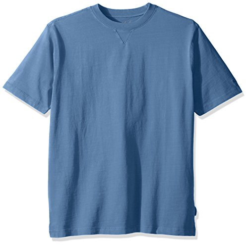 (Woolrich Men's First Forks Solid T-Shirt, Mountain Blue, Small )