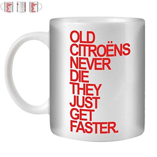 stuff4-tea-coffee-mug-cup-350ml-citroen-red-text-old-cars-white-ceramic-st10