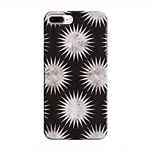 Cover It Up - Silver Black Star iPhone 7 Plus Hard Case