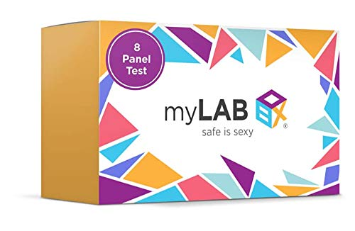 STD at Home Test for Men Chlamydia, Gonorrhea, Trichomoniasis (Trich), HIV (1 & 2), Hepatitis C (Hep C), Genital Herpes (HSV-2), Syphilis (8 Panel) by myLAB Box (Best Cure For Chlamydia)