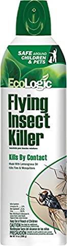 EcoLogic HG-75001 Flying Insect Killer, Aerosol, 14 oz (Moths Spray)