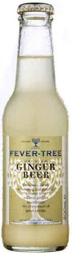 Fever-Tree Premium Ginger Beer, 6.8 Fl Oz 4 count