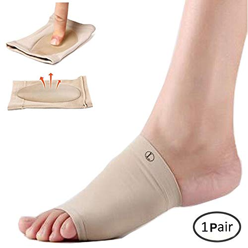 Arch Support Socks,Junyulim Plantar Fasciitis Foot Arch Support Cushions Sock ,Comfortable, Rapid Foot Pain Relief .Can Be Hand Washable, Reusable(1 Pair)