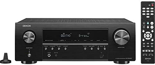 Denon AV Receiver Audio Video Component Receiver BLACK AVRS540BT Renewed