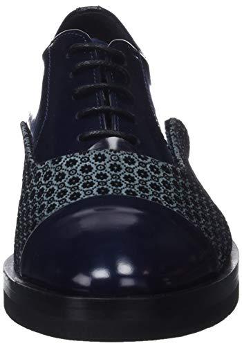 abras Mujer P Azul Marino Oxford Zapatos Para Cordones Lottusse S9760 De q6OwYY8