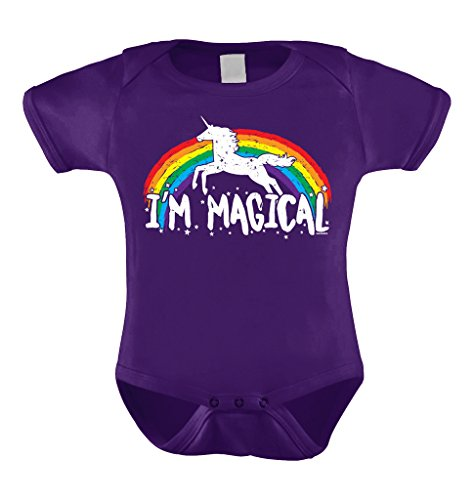 Im Magical Rainbow Unicorn Bodysuit