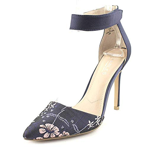 - CHARLES BY CHARLES DAVID Women's Pointer Navy Multi Floral 7 M US