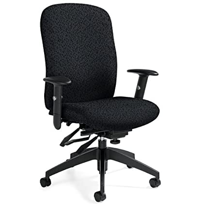 Global GLB54503JN02 Truform High Back Chair Multi-Tilter Jenny Eboy Fabric Black  sc 1 st  Amazon.com & Amazon.com: Global GLB54503JN02 Truform High Back Chair Multi ...