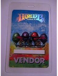 1996 Horde Phish Laminated Backstage Pass Foil Vendor Lenny Kravitz Blues Traveler