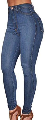 TomYork Denim High Waist Skinny Jeans product image