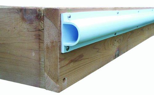 - Dock Edge + Inc. ProDock Commercial Grade Heavy Duty Dock Bumper Profile, 3-8-Feet Sections (24-Feet, White)